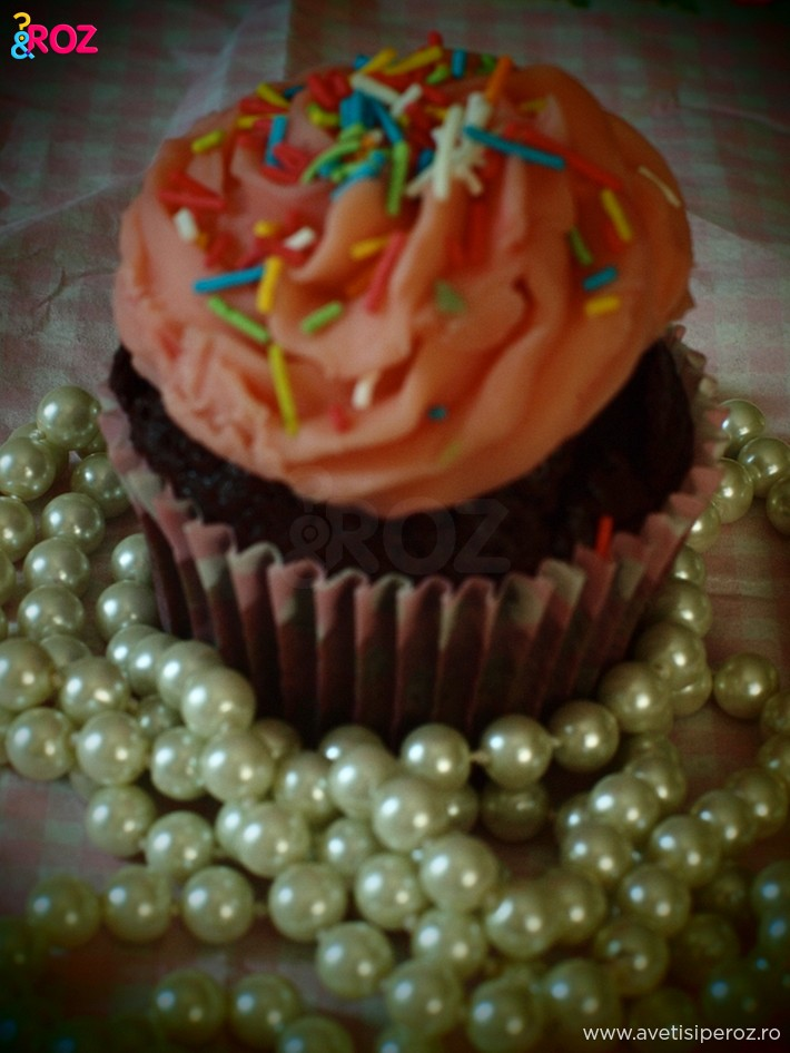 cupcake roz si perle