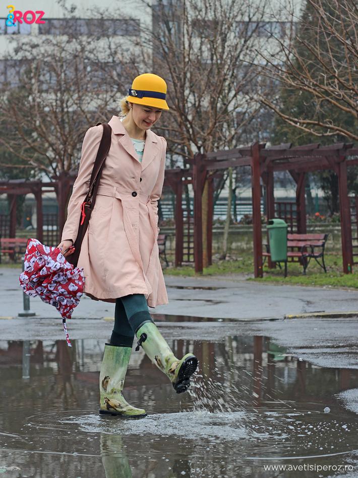 cum ne imbracam cand ploua