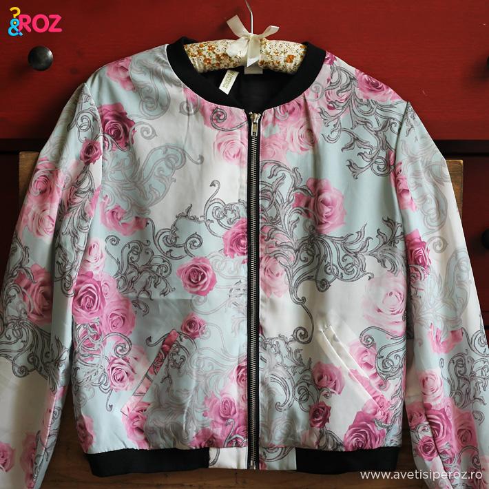 jacheta cu flori hm