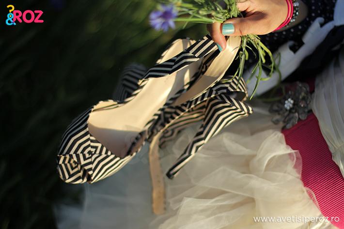 sandale zara cu dungi