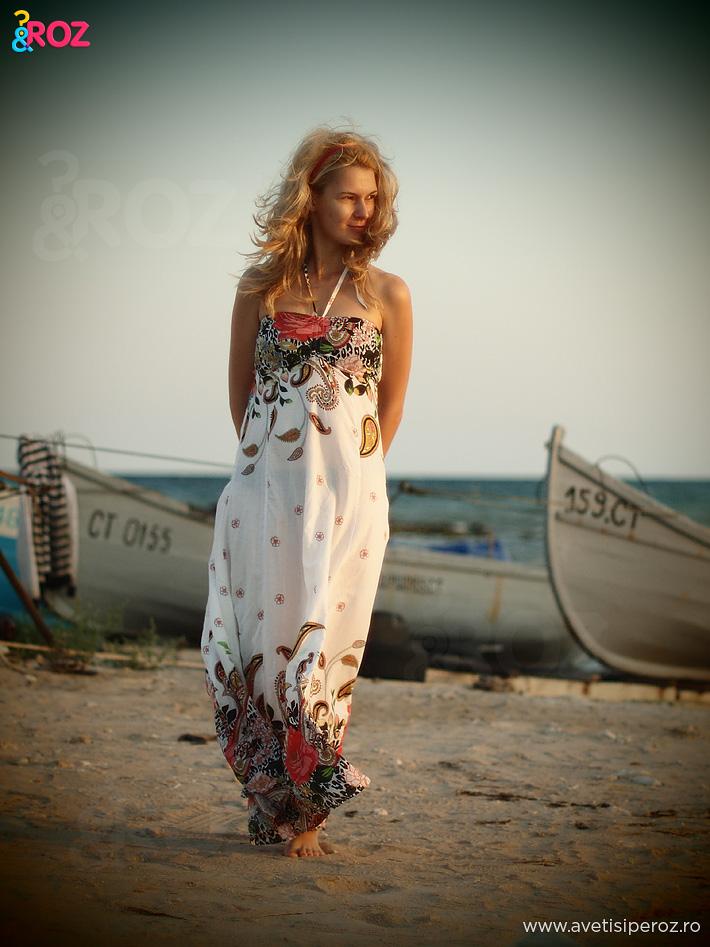 rochie inflorata de vara