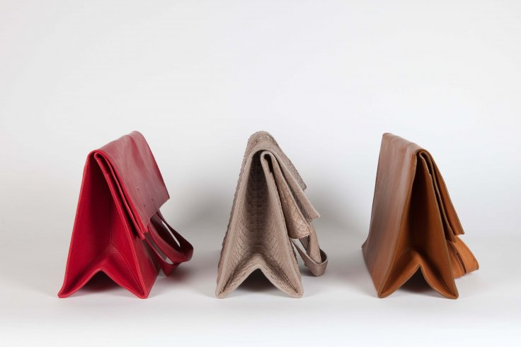 margiela paper bag clutch