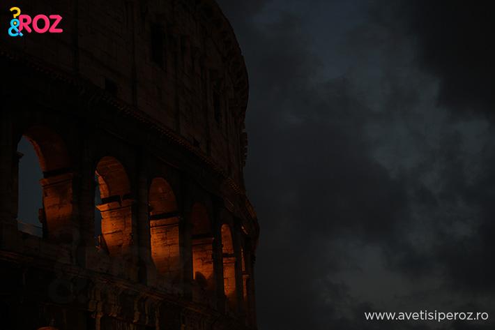 colosseum roma seara