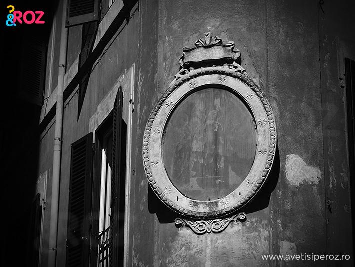 pe strazi in roma foto alb negru