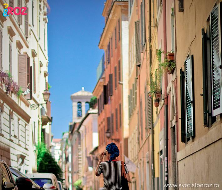 plimbare prin roma