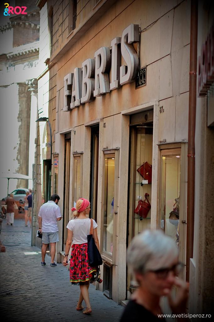 strada in roma