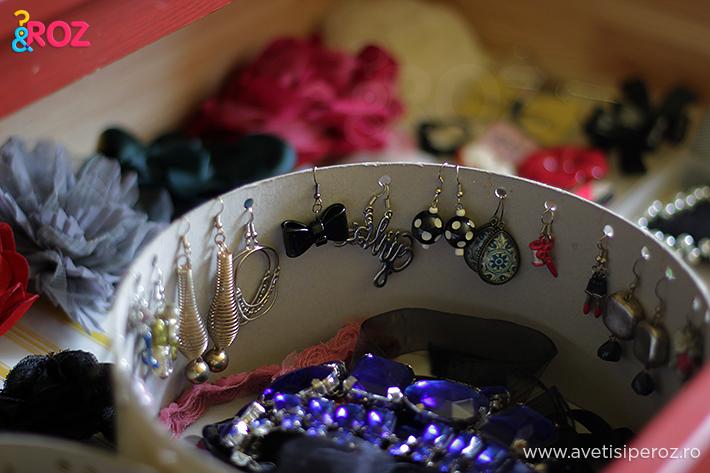 cutie ikea transformata in cutie bijuterii