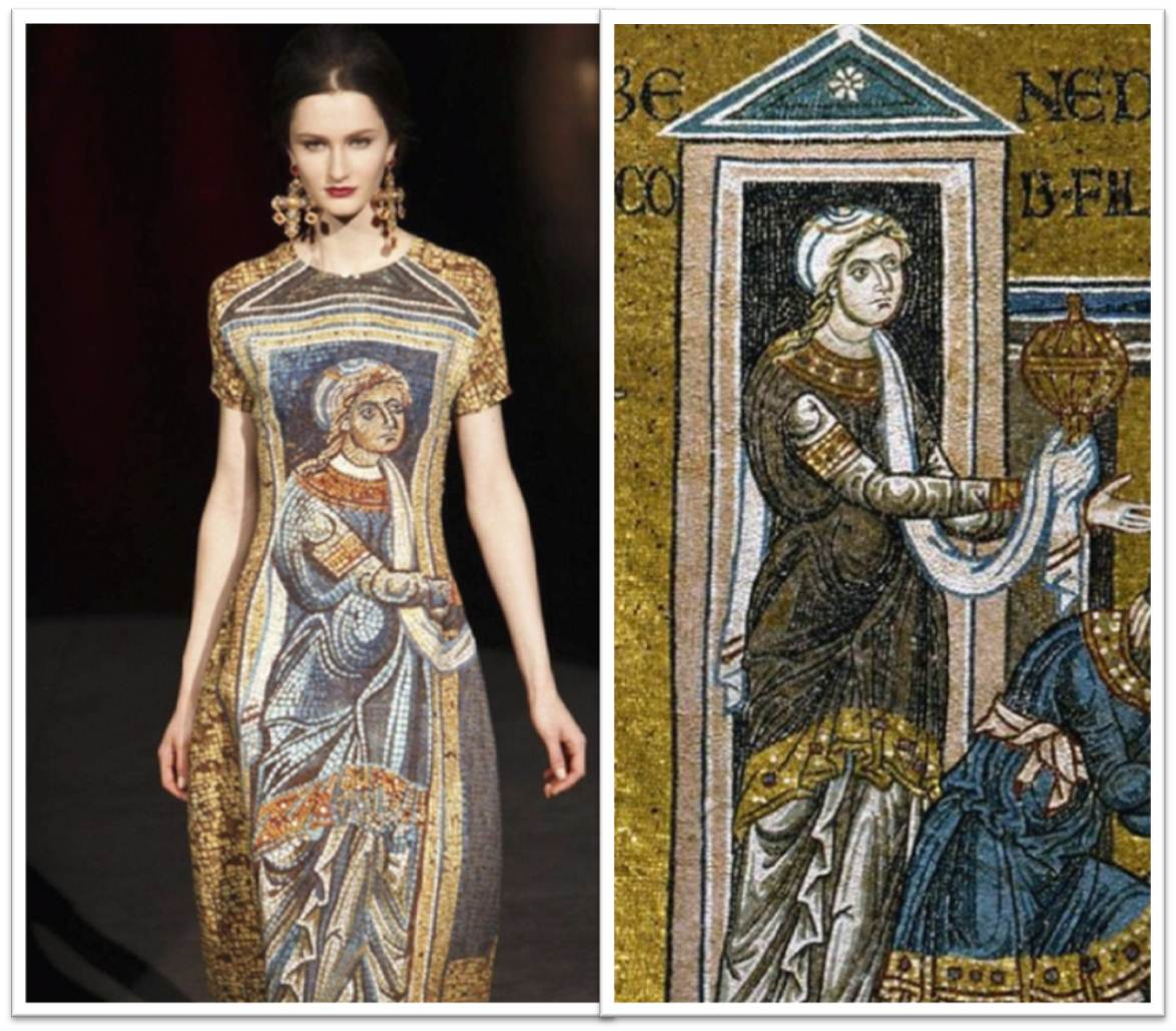 dolce and gabbana monreale inspiration
