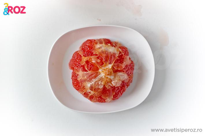 grepfrut fara coaja