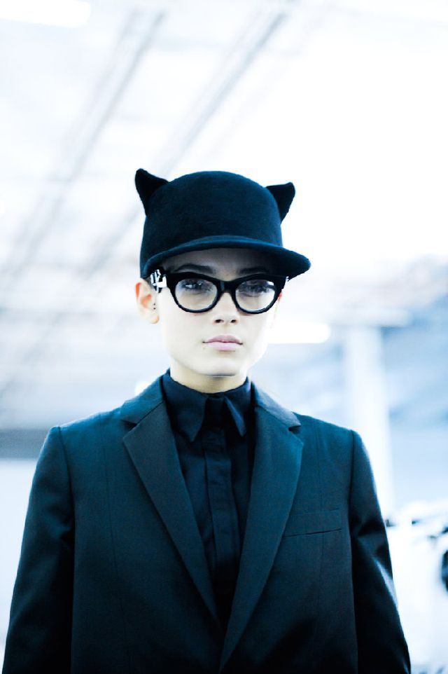 givenchy-fall-2011- hat-with-ears