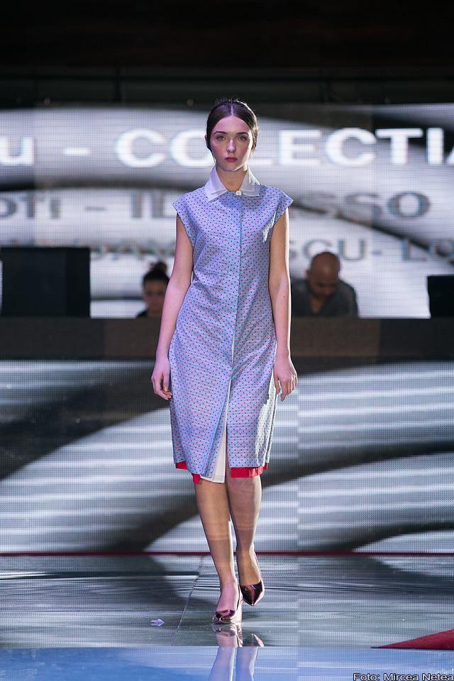 Carmen Secareanu rochie retro
