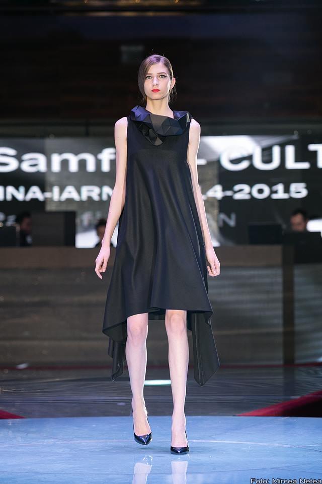 Cristian Samfira rochie asimetrica