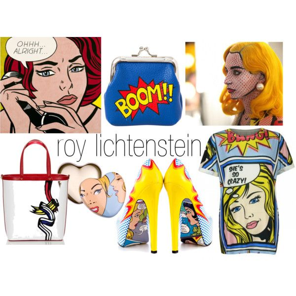 roy lichtenstein fashion