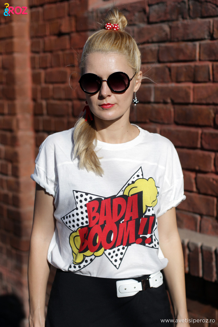 tricou zara bada boom