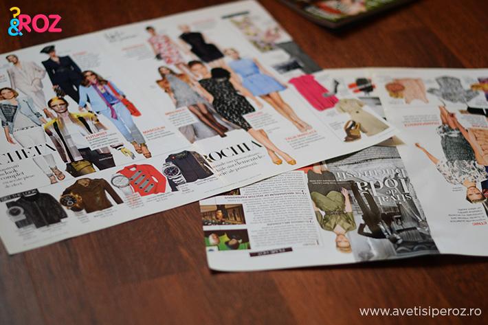 impachetat cadouri din pagini reviste