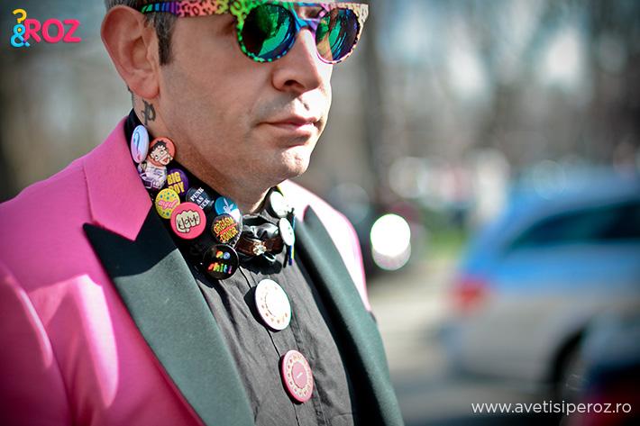 man in pink pfw