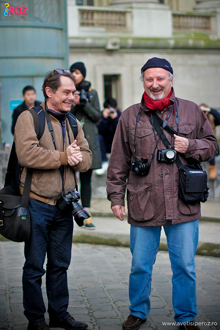 two photographers pfw