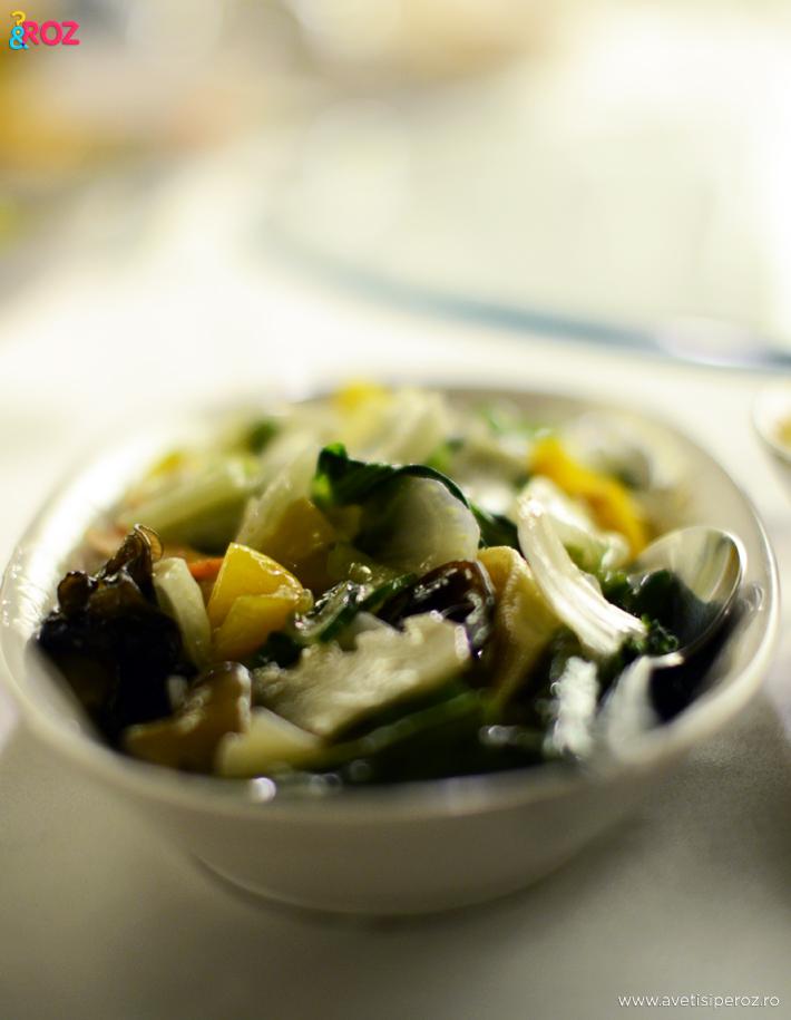 meniu vegetarian restaurant chinezesc