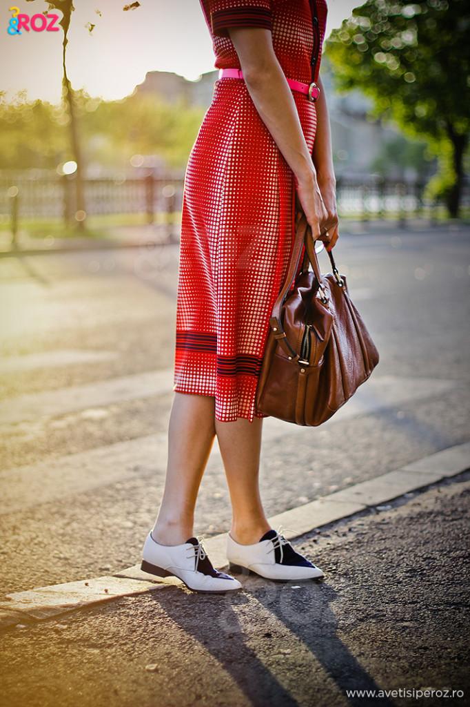 pantofi retro asos si geanta zara