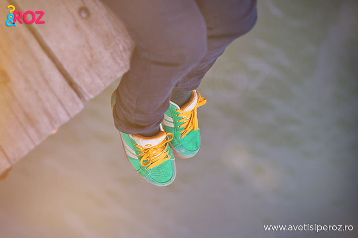 pantofi verzi sport boarders