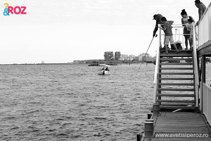 pescari pe ponton la mamaia