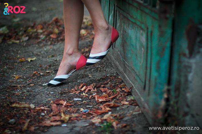 pantofi cu dungi il passo