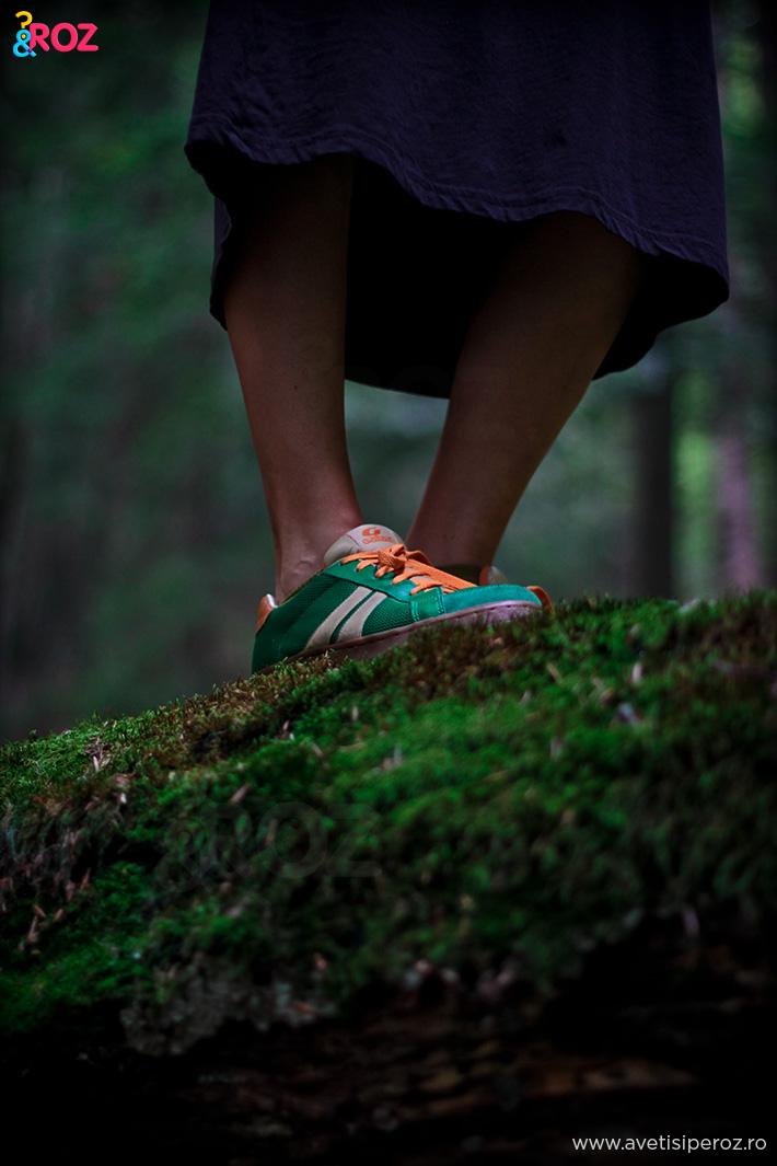 pantofi sport verzi