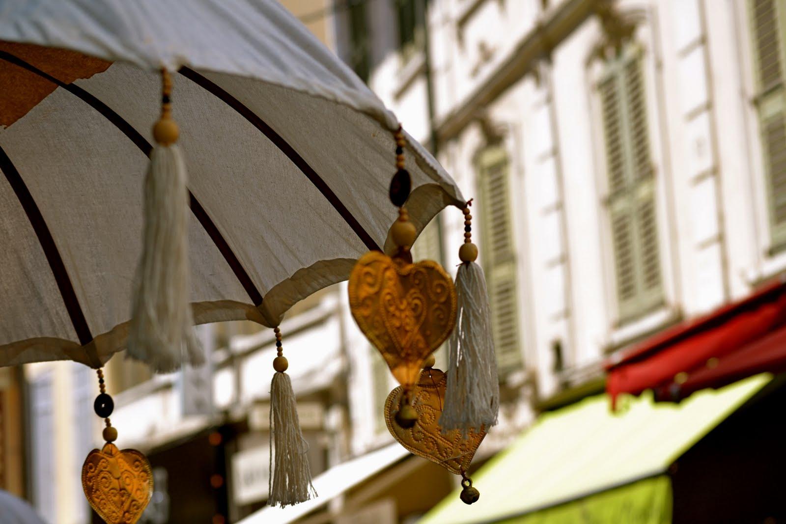 umbrele de panza retro
