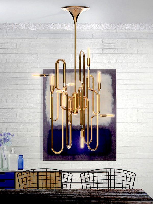 lampa trompeta