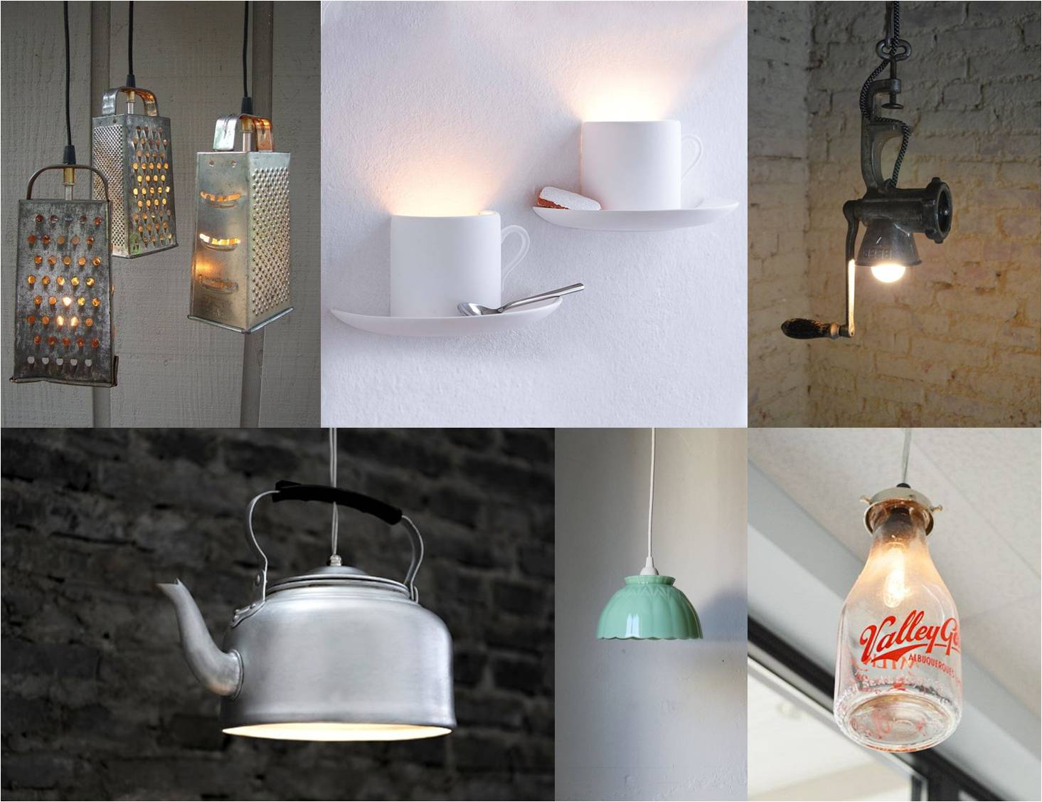 diy kitchen lamp