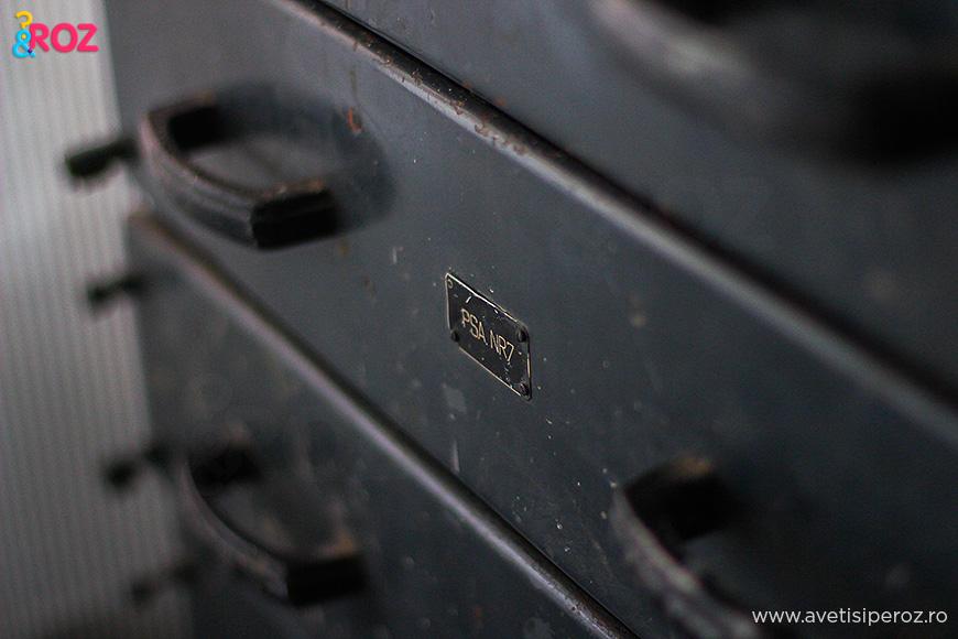 dulap metalic vechi