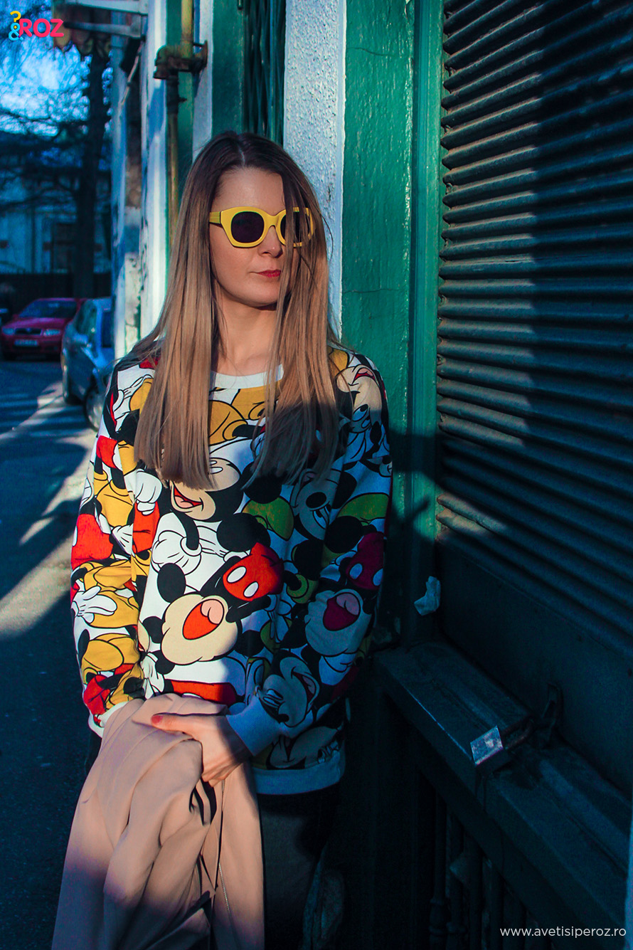 karen walker yellow sunglasses