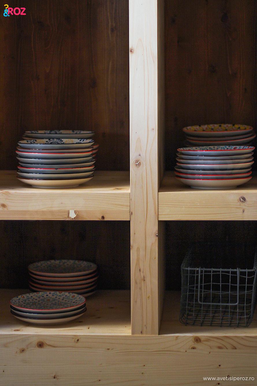 rafturi lemn simple