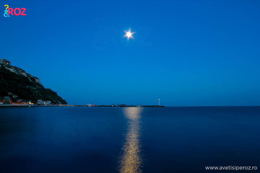 noaptea la mare