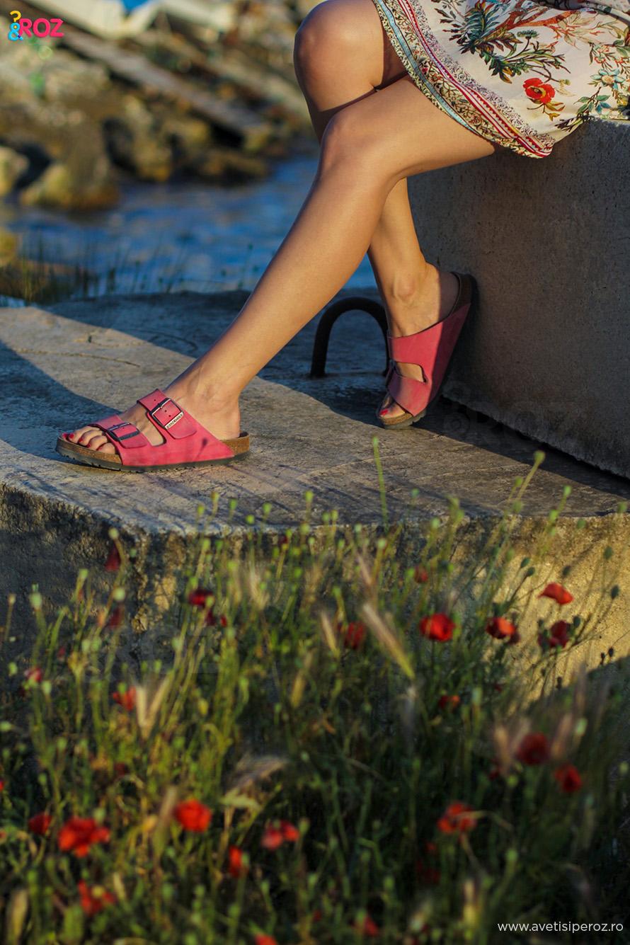 pink birkenstock
