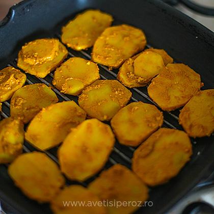 cartofi pentru burgeri