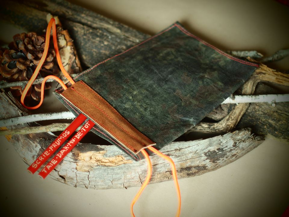 obiecte handmade panza si piele