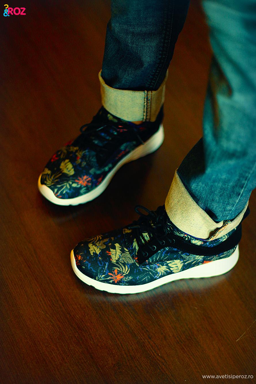 pantofi sport cu imprimeu