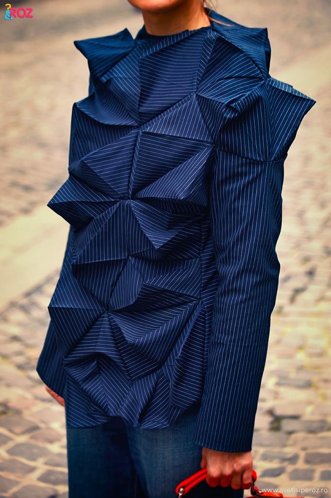 tridimensional jacket