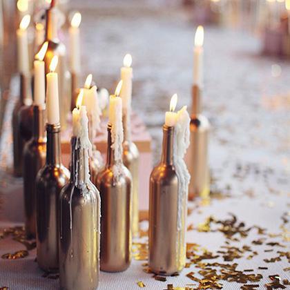 idei creative decorat masa revelion