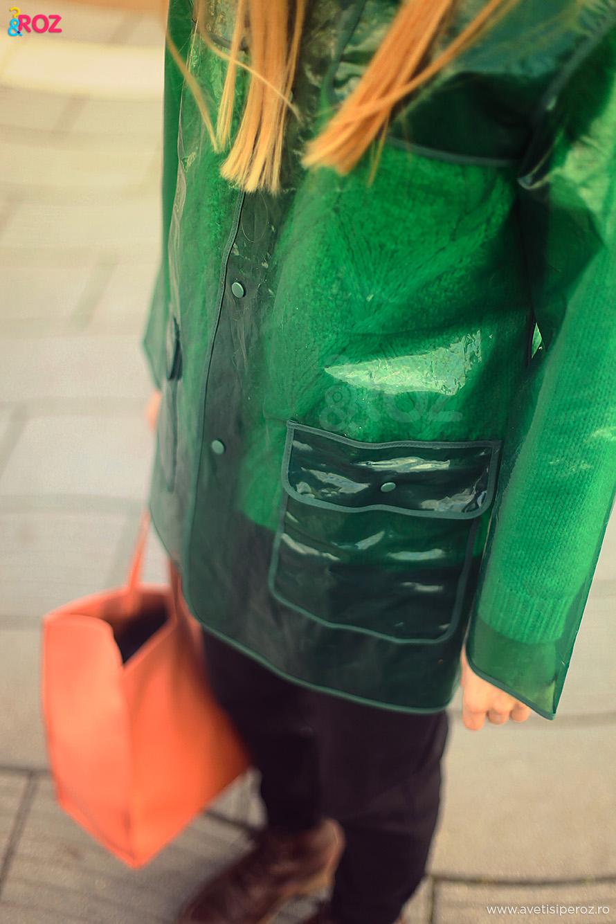 pelerina ploaie asos geanta zara