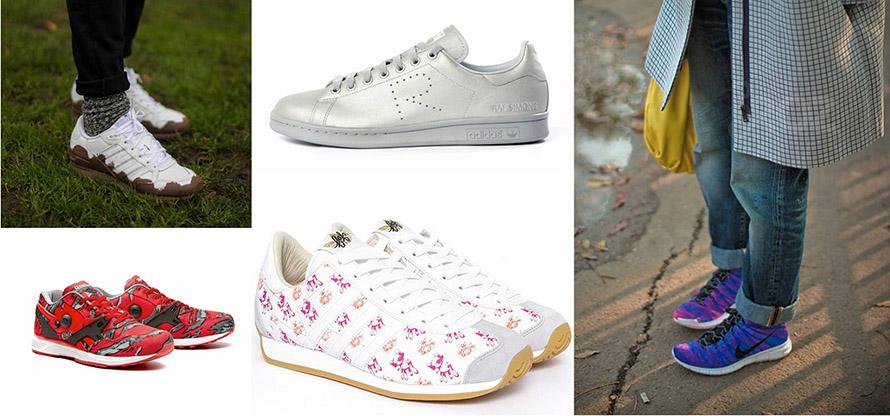 5 pantofi sport favoriti
