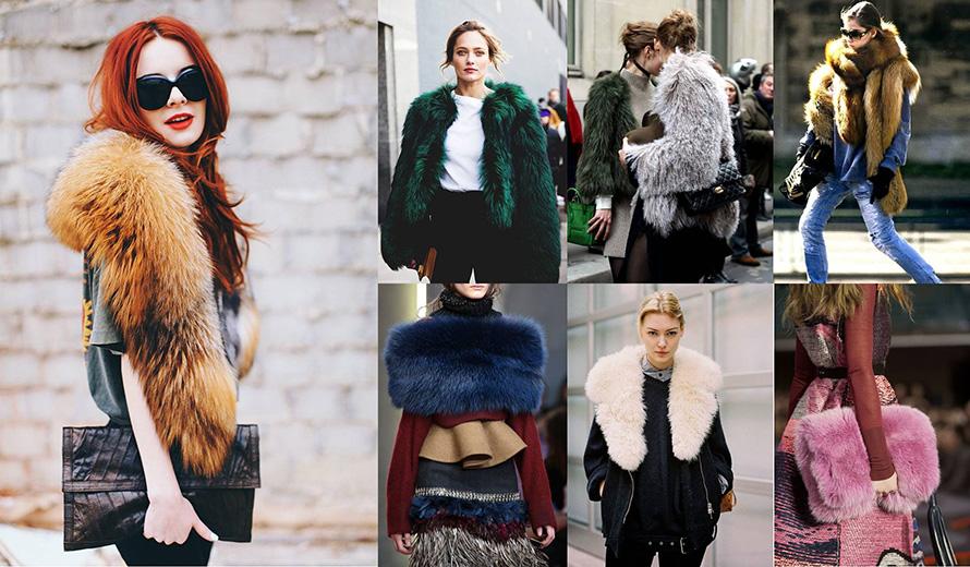 fake fur winter ideas