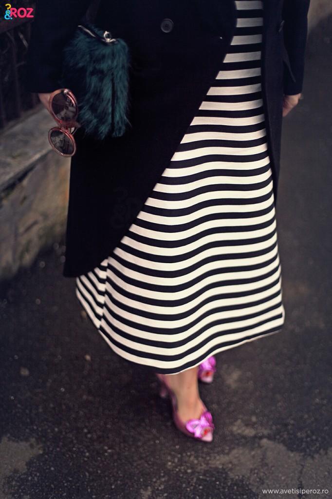 rochie asos si pantofi melissa