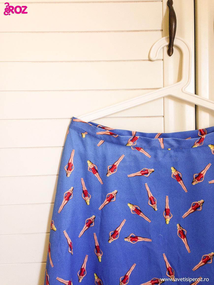 agnes b summer skirt