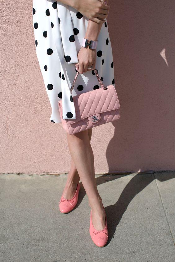 buline si pantofi roz