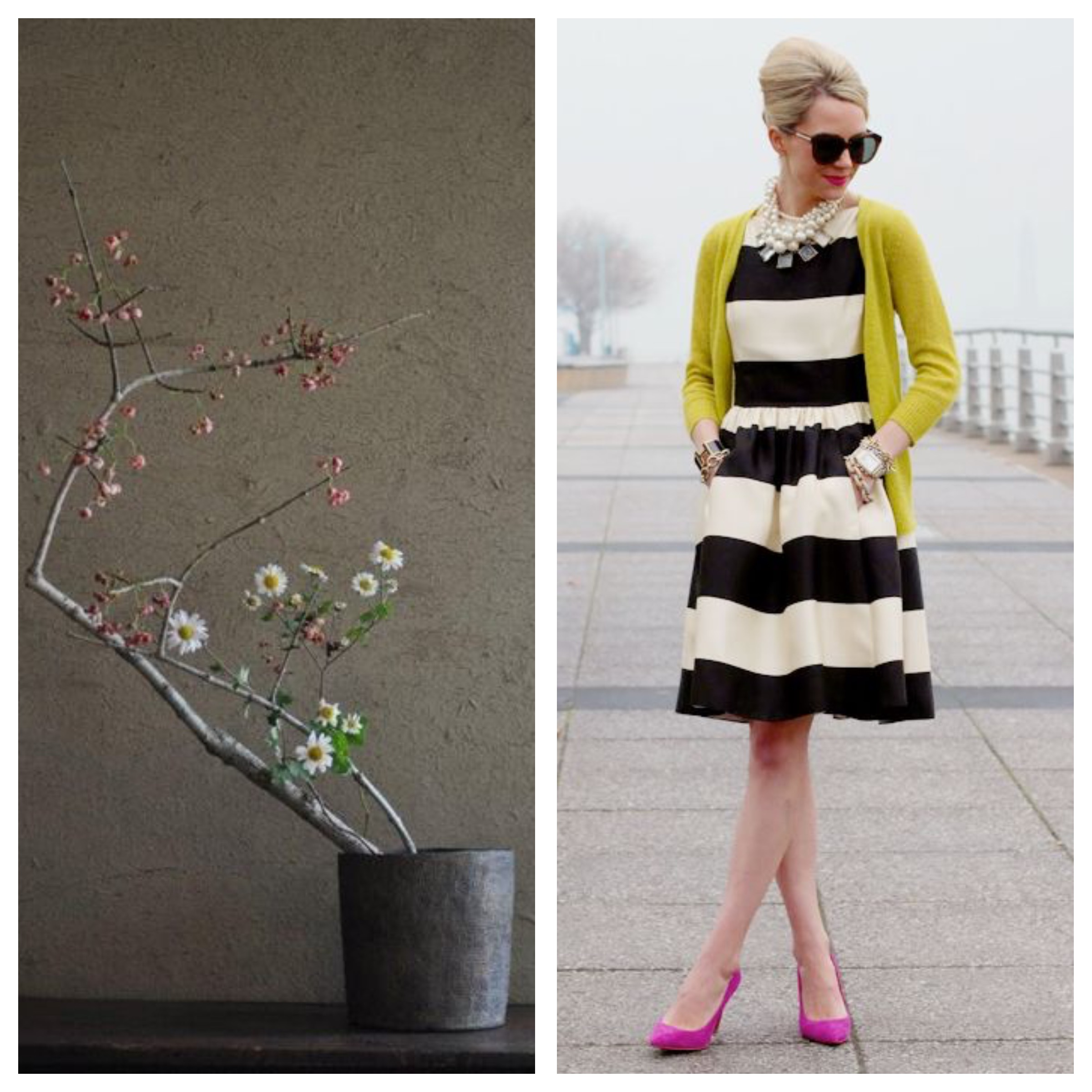ikebana and fashion