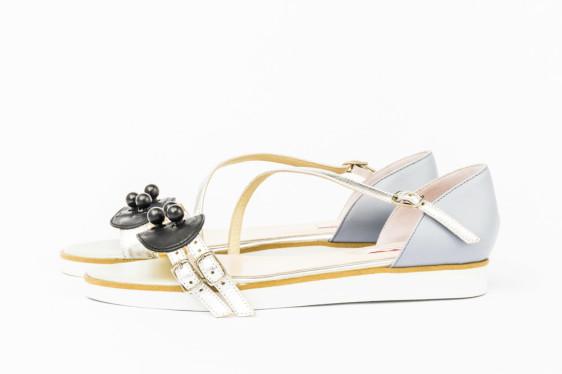 sandale de piele creatori romanijpg