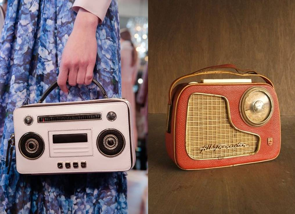 kate spade vs vintage radio