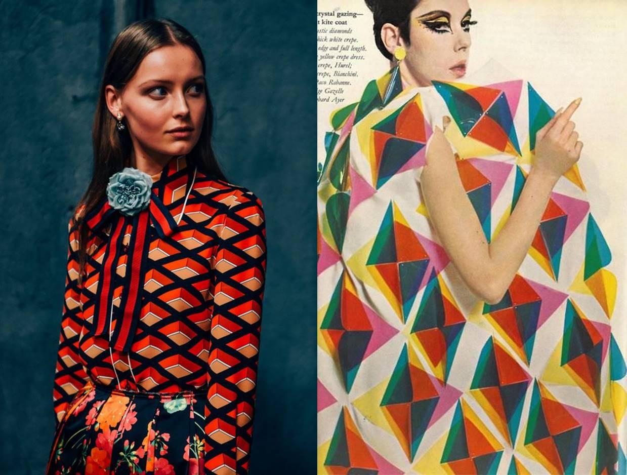 retro pattern fashion